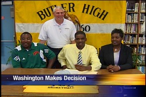 Team Power 2011 – Chris Washington Signs with Tallahassee Community College