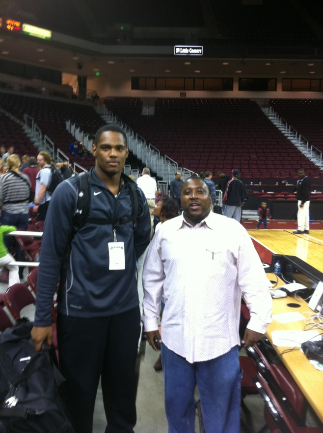 Ricardo Glenn (2009) & Coach Greg Williams